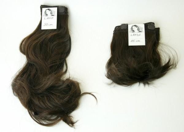 Tressenband zur Haarverdichtung Braun-Dunkelbraun-Mix in 5 Größen